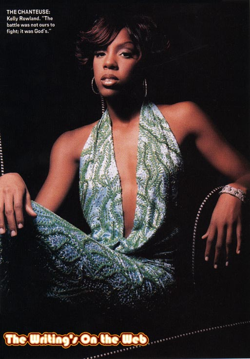 kelly rowland in green dress